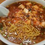 吉林飯店 - 麻婆ラーメン麺アップ