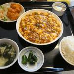 中国四川料理 川香苑 - 麻婆豆腐定食