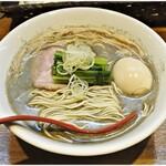 中華そばや 和凡 - 料理写真:純ニボシラーメン+味玉 800+100円