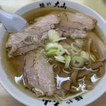青竹手打ちラーメン 麺や 大山 - チャーシューめん  950円