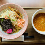 舟島屋 - 濃厚海老つけ麺