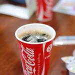 クレープ クランベリー - 2012,10,04 超〜懐かしいコーラの紙コップ…