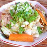 らーめん絆家 - 野菜炒め
