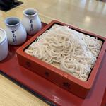 nagasakasarashinanunoyatahee - 御前蕎麦。