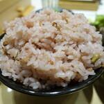 五穀 - 料理写真:五穀米大盛り