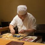Kimura - 鰹の握り