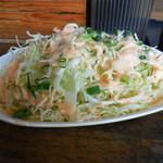 丼ぶり屋 幸丼 - ...「どかキャベツサラダ(250円)」、三人分位の量orz