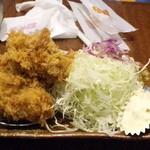 とんかつ和幸 - カキフライ