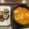 明洞食堂 - 料理写真:ズンドゥブラーメンと選べるキンパ