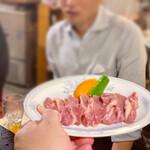 地鶏食堂 - 赤鶏