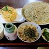 天ぷらそば ふくろう - 料理写真:激盛りっぷりを伝えたいのだが、いまいち表現することが出来ていない