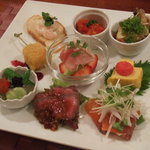メルシー - 料理写真:ランチ 至福のメルシープレート