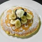 オープン セサミ  - ブルーベリーとリコッタノパンケーキ
