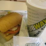 サブウェイ - 朝サブのターキー&チーズ