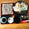 芭蕉庵 - 料理写真:あらびき 海老と有機野菜の天ぷら
