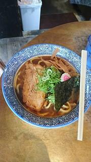麺屋えびす - 魚介豚骨ラーメン830円