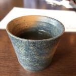 手打そば 末広 - そば茶(^-^)美味です❗️