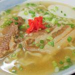 つた家 - 清んだスープは昆布が効いて実に美味しい