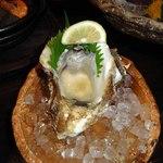 海老の髭 - 岩ガキ