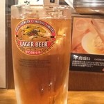 Kushikatsudengana - 2012/10 ウーロン茶 300円