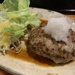 博多ん肴屋 五六桜 - 日替わりの和風牛タンおろしハンバーグ