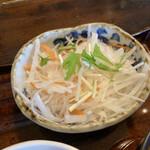 米寿 - 大根と人参のサラダ