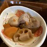 米寿 - 根菜類の煮物