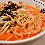 希須林 - 青山 担々麺@税込1,280円:麺