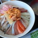 北のにしん屋さん - 海鮮丼 1300円