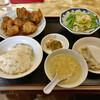 新雪園 - 料理写真:鳥の唐揚甘酢辛味 800円