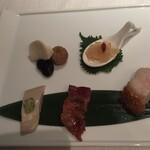 広東名菜 赤坂璃宮 - 前菜
