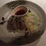 広東名菜 赤坂璃宮 - 和牛肉の湯引き