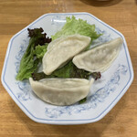 ぎょうざの満洲 - 水餃子3個