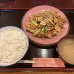 グルメあさひ - 料理写真:ホルモン定食(数量限定)