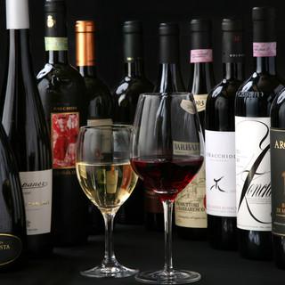 ワインもお手頃です★