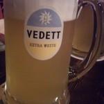 フリゴ - Vedett 500ml 1500円