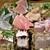 味楽 ゆめり - 刺身盛り合わせ九点盛り 左上からサヨリ/アジ/ヒラマサ/マグロ/岩ダコ/バイガイ/フグ/ヒラメ(エンガワも)/スズキ炙り