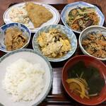 まつもと食堂 - 料理写真:日替定食(アジフライ)