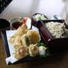 そば処 仙場 - 料理写真:天ざる