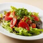 今日和 - 湯むきトマトと青じその和風サラダ