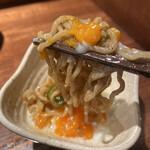 汁なし担担麺専門 キング軒 - 温玉つけ麺