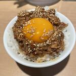 中華そば ます田 - 肉味噌丼
