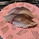 回転寿司 根室花まる - 薄しめ鯖