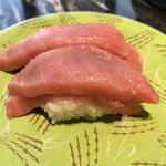 回転寿司 根室花まる - 2階建本鮪赤身