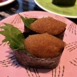 回転寿司 根室花まる - 氷下魚の子