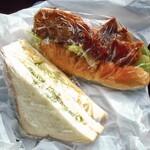 サルタセカンド - 購入したサンドイッチ