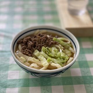 みうらうどん - 料理写真:肉うどん 450円