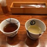 151477718 - お茶と軍鶏スープ