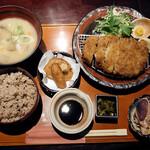 麹蔵 - 沖縄琉香豚ロースかつ御膳