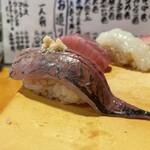 天史朗寿司 - 鯵